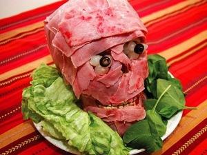 Мясная закуска «Голова мумии»