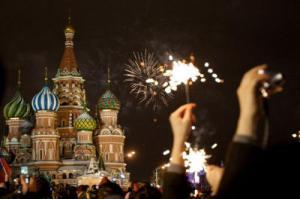 Новый год на улице