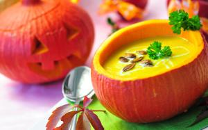 Мистический суп-пюре из тыквы