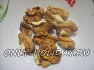 Очистить орехи