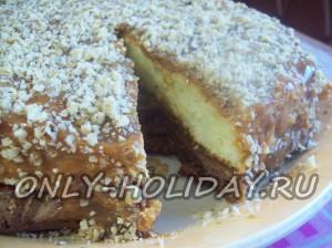 Необыкновенно вкусный торт на скорую руку