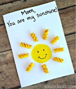 открытки из макарон