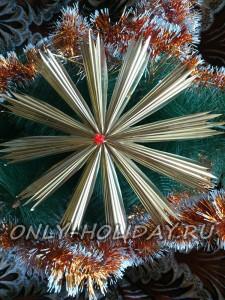 Рождественская звезда своими руками: мастер-класс с фото