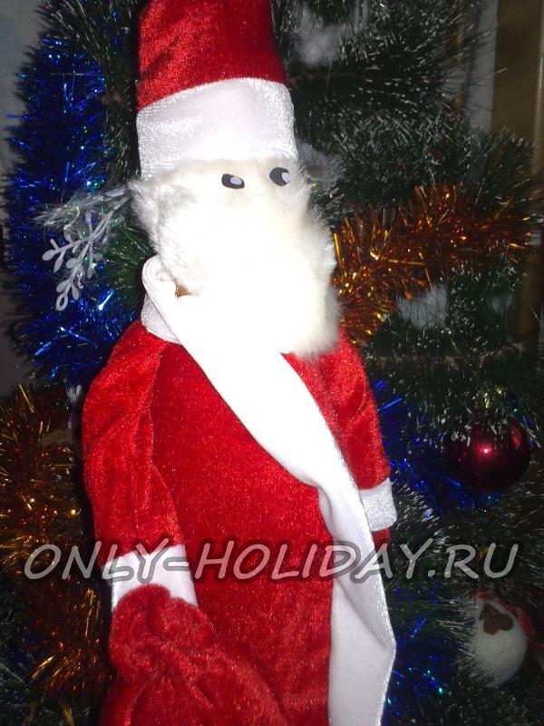 Новогодний чехол «Дед Мороз» на шампанское