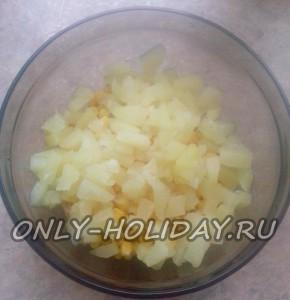 Добавить ананас