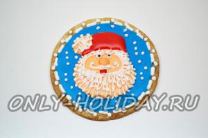 Полностью рисуем Деда Мороза