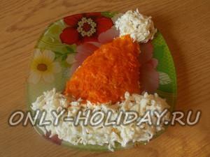 Салат «Шапка Деда мороза»: рецепт с фото