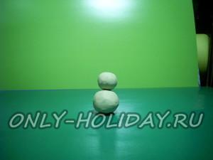 Установить шарики друг на друга