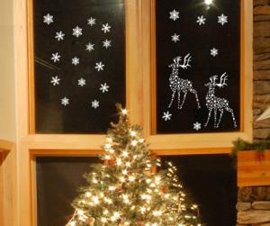 Новогодние украшения дома