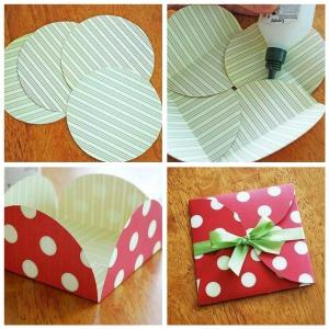Изготовление плоского конверта