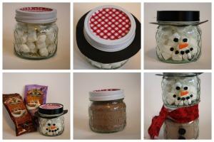 Как изготовить сладкого снеговика