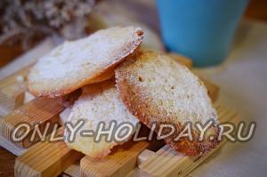 Домашнее кокосовое печенье: пошаговый рецепт с фото