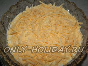 Выложить сыр
