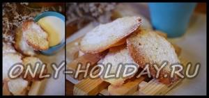 Хрустящее печенье с кокосовой стружкой