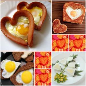 Варианты завтрака для любимого