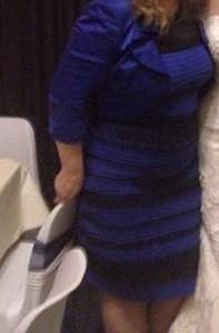 Реальный цвет нашумевшего платья