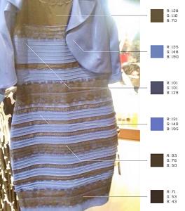 Какого цвета платье на самом деле