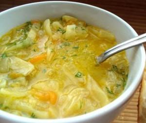 sup s kapustoi