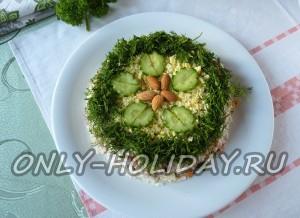 Салат «Мимоза» с сайрой: рецепт