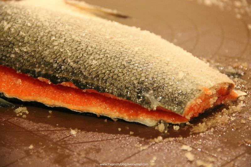 Засолка кеты - пошаговый рецепт с фото на Повар