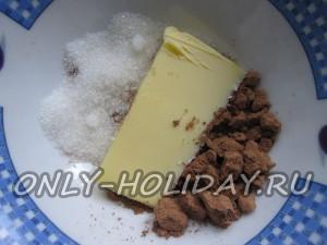 Глазурь из шоколада для кулича