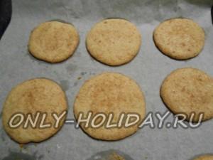 Наше печенье «Сникердудль» готовы!