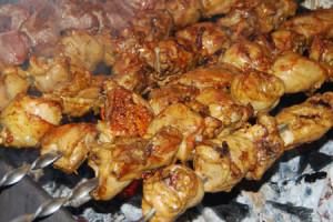шашлык из свинины во вкусном маринаде