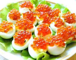 фаршированные яйца на праздник