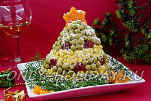 "Новогодний салат ""Елка"", рецепт"