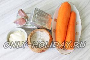 Ингредиенты для закуски Мандарины