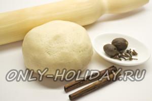Замесить тесто для печенья Обезьянка с бананами