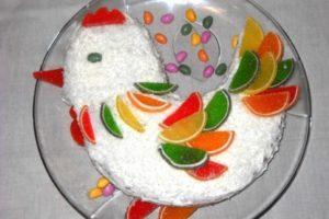 Как приготовить салат «Петух» на Новый год