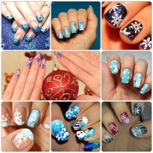 Новогодний дизайн ногтей, фото, новинки