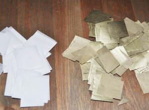 из папиросной бумаги