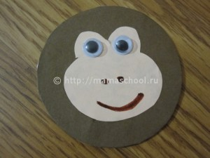 обезьянка из картона4