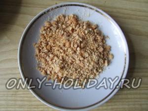 раздробить арахис для салата Обезьянка