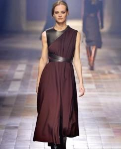 Шоколадное платье для встречи нового года 2016