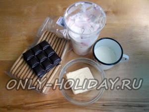 Ингредиенты для торта без выпечки