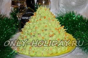 "Торт ""Елочка"" на Новый год, рецепт"