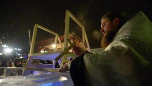 освящение купели на крещение
