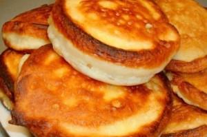 Оладьи на кефире пышные: рецепты с фото пошагово