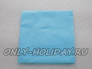 воспользуемся бумажной салфеткой с размерами 33х33 см