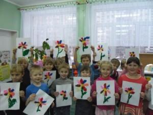 Сценарий к 8 марта «В гостях у Мимозы» для средней группы детского сада