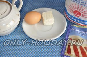 Ингредиенты для пасхального печенья