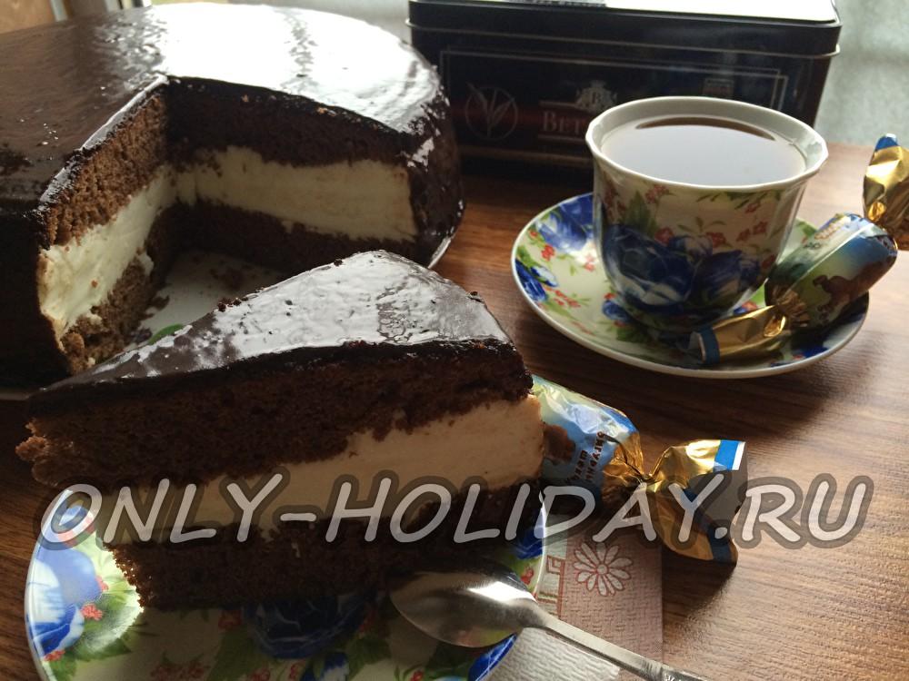 Торт Птичье молоко - пошаговый рецепт с фото на Повар