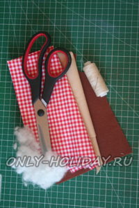 материалы для пошива петушка