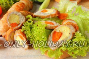 Рулетики из свинины с начинкой: рецепт с фото