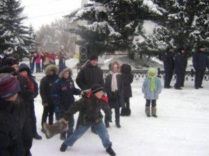 Конкурсы на Масленицу на улице для детей и взрослых