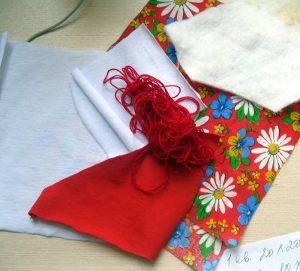материалы для изготовления куклы Масленицы