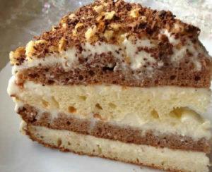 Торт «Сметанник»- классический рецепт с фото пошагово